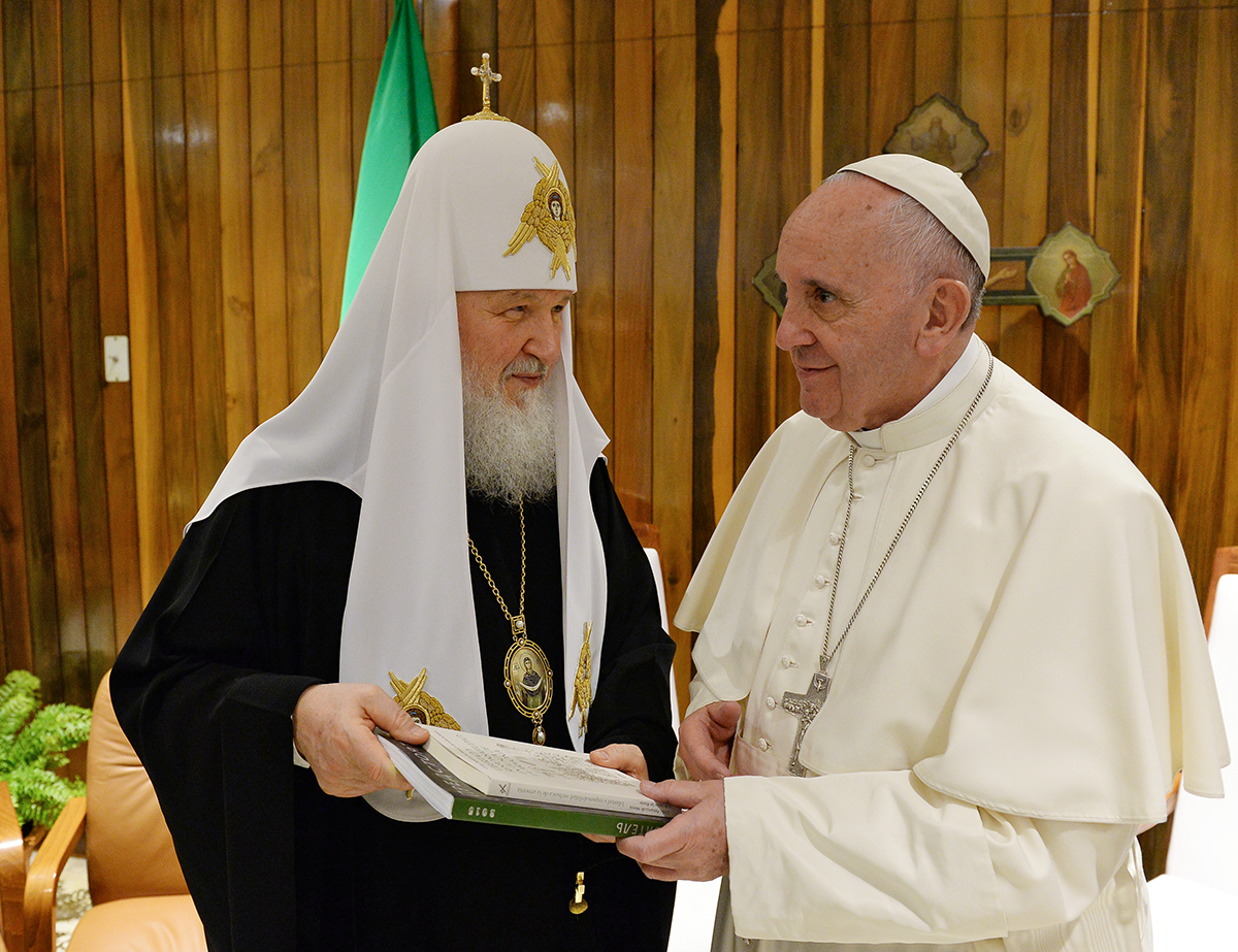Pope will meet with Patriarch Cyril in Cuba 02/05/2016 59