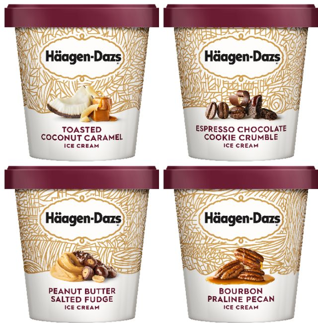 Haagen-Dazs Adds Four New Flavors Including Toasted ...