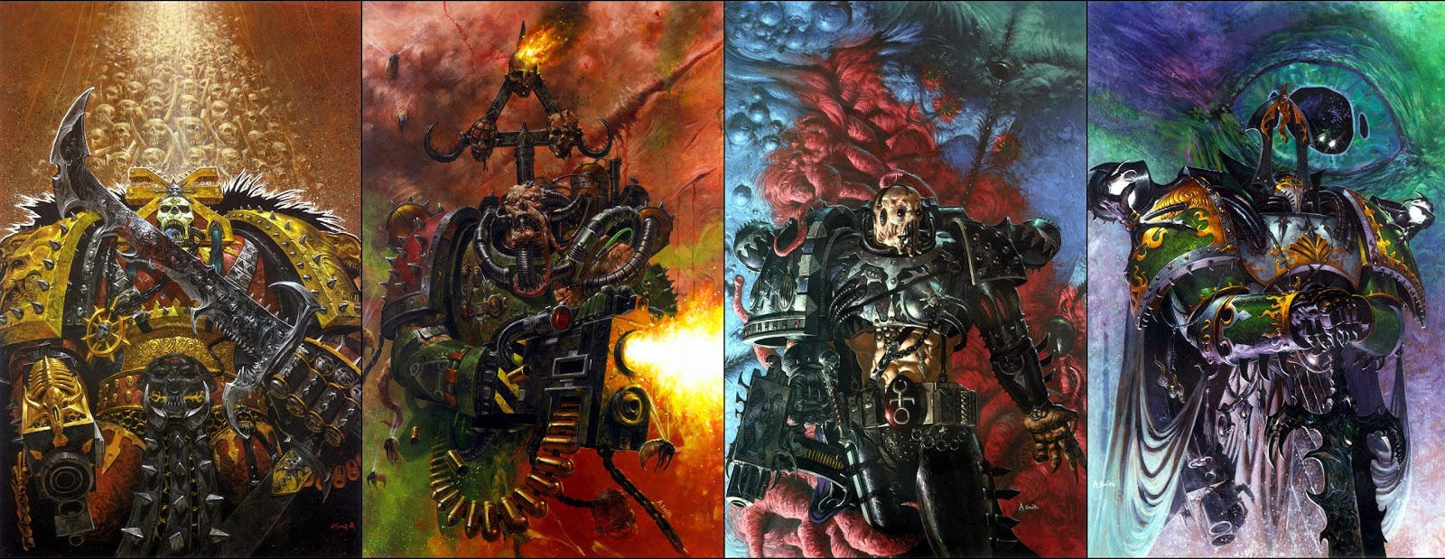 Tzeentch, Khorne, Magnus and Angron; What do they have in ... Warhammer 40k Good Chaos Gods