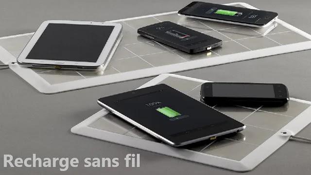 Tous les téléphones prenant en charge la recharge sans fil