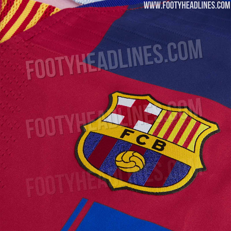 meet 1ed76 3944e Nike FC Barcelona What The 20th Anniversary Jersey Released ...
