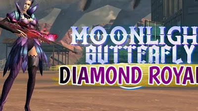 diamond royal moonlight butterfly