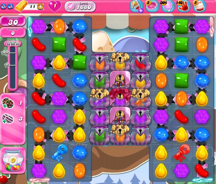 Candy Crush Saga 1680