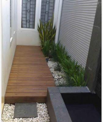 inspirasi taman depan rumah ukuran kecil