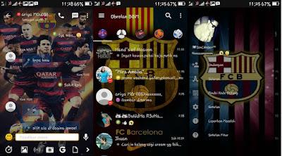 BBM Mod Tema Barcelona FC 3.0.1.13 Android 2016