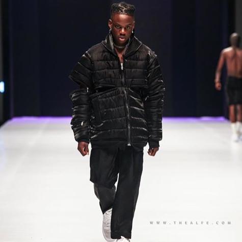 rema-biography-Rema-walks-in-Lagos-Fashion-Week-2019