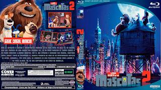 LA VIDA SERCRETA DE TUS MASCOTAS 2-THE SECRET LIFE OF PETS 2 2019 [COVER BLU-RAY]