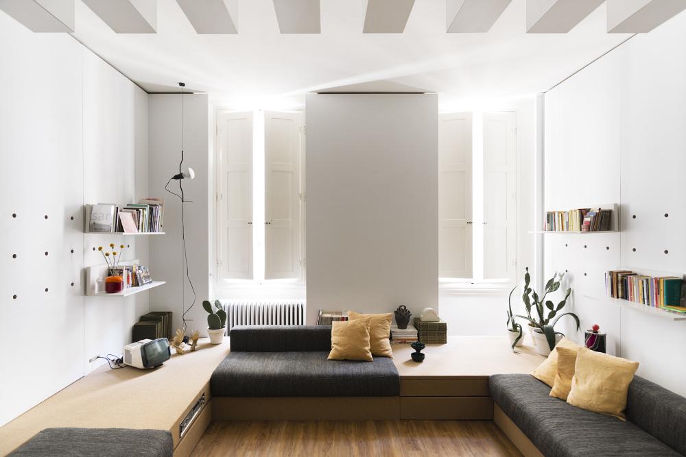 Ufficio Di Un Architetto : Mini appartamento e ufficio dellarchitetto silvia allori a firenze
