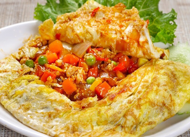 Resepi Telur Bungkus, telur bungkus