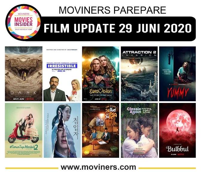 FILM UPDATE 29 JUNI 2020