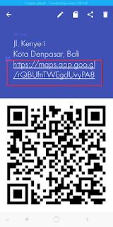 Cara Scan Barcode (Qr Code) Google Map Di Android