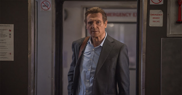liam neeson commuter movie still