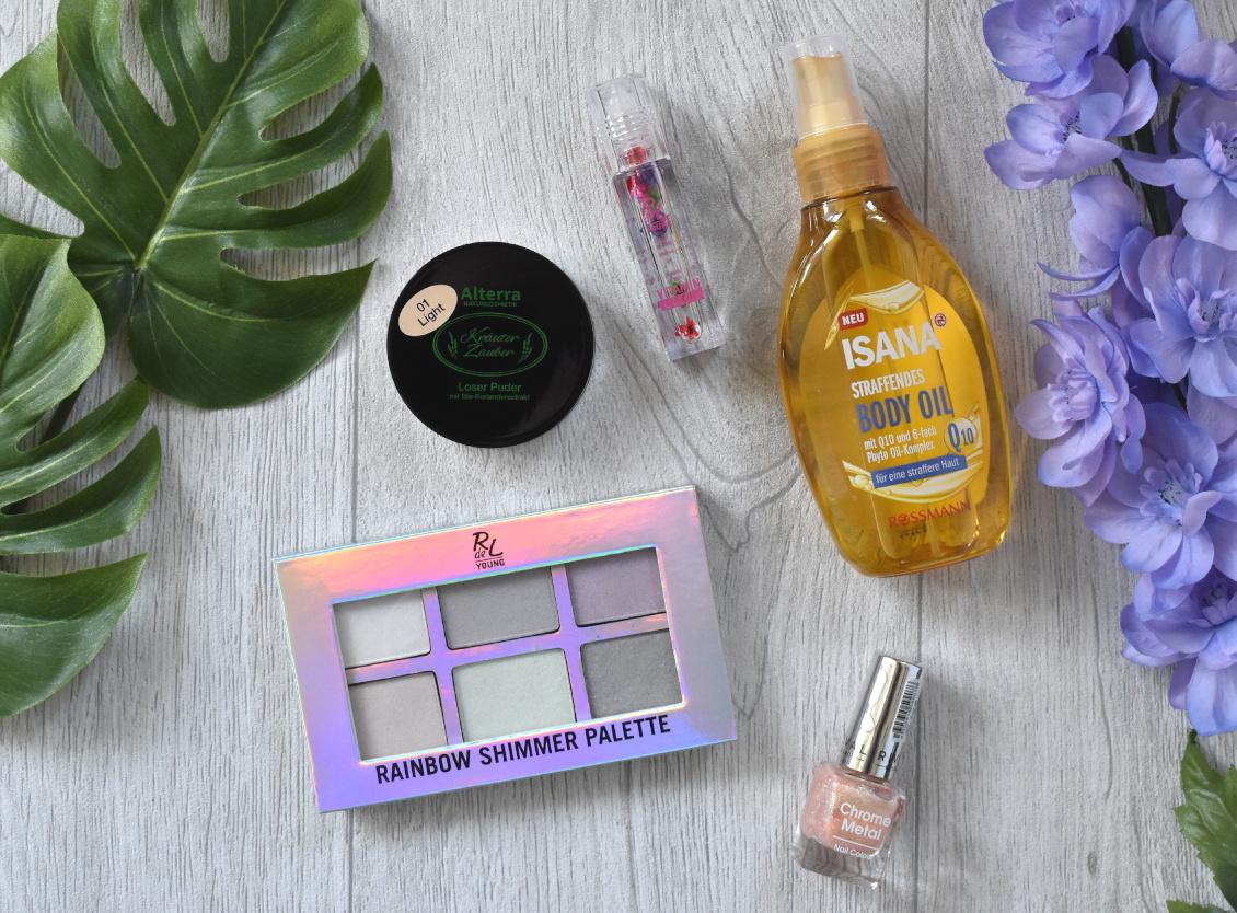 Produkt Neuheiten bei Rossmann - Frühjahr 2019 - Pflege Naturkosmetik Kosmetik
