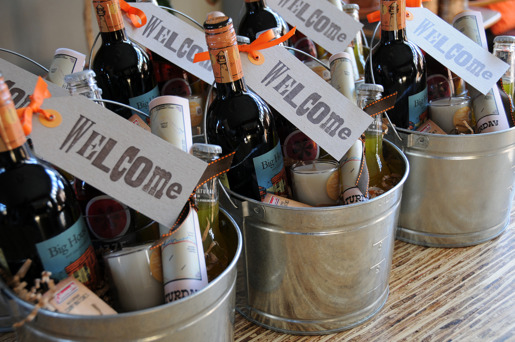 Welcome Gift Baskets For Wedding Guests: Making Your Out Of Town Wedding Guests Feel Welcome