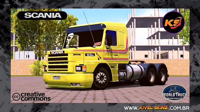 SCANIA T113 - AMARELO GBN