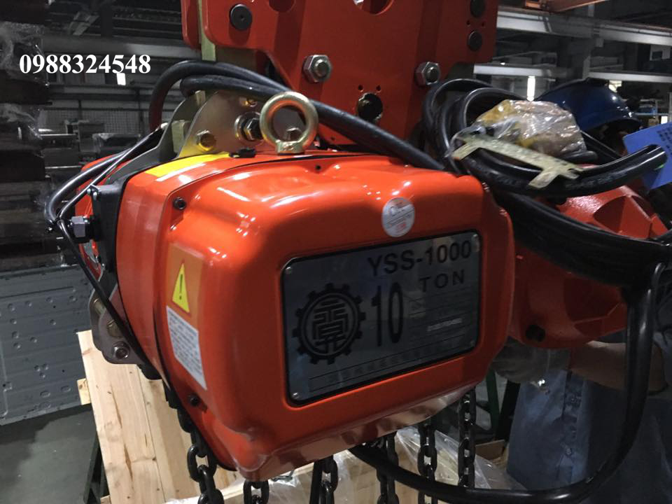 pa lăng điện xích Black Bear YSS-1000