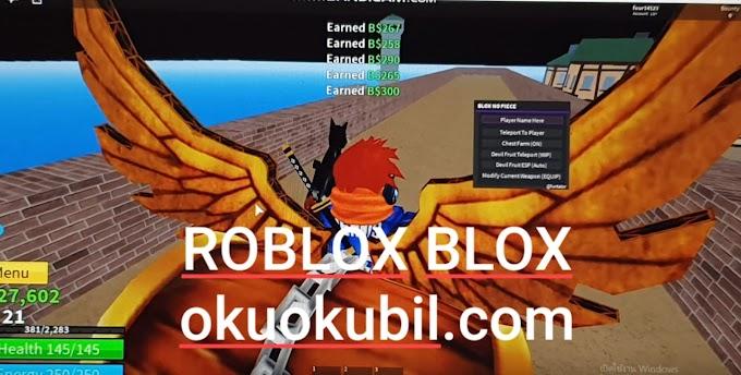 Roblox Blox piece hack Farm chest Gui op Oyunu Farm Script Hilesi İndir Haziran 2019