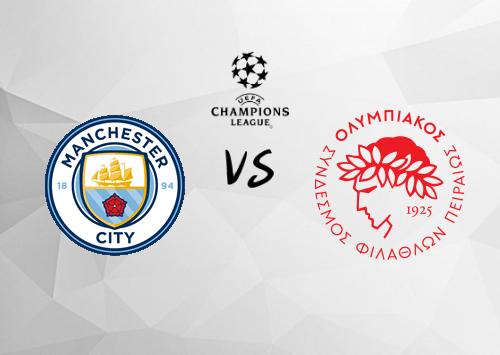 Manchester City vs Olympiakos Piraeus  Resumen y Partido Completo