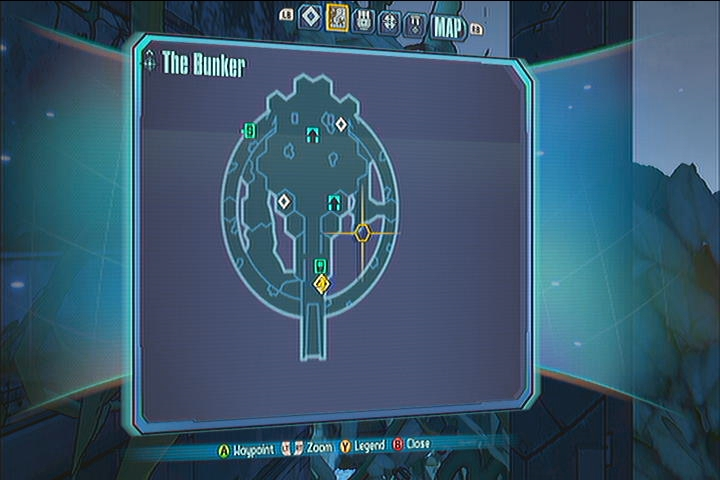 The Bunker Vault Symbols Borderlands 2