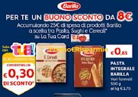 Logo Barilla ti regala subito un buono sconto da 8€ !