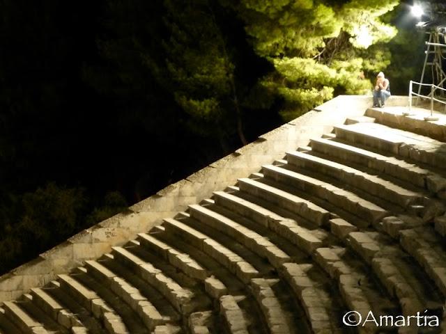 Théâtre d'Epidaure Argolide Peloponnèse Grèce