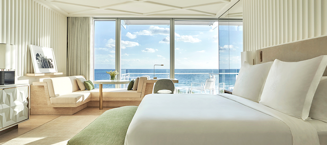 Four Seasons Hotel at The Surf Club is a luxurious oceanfront destination bringing a new era of glamour elevated with chic Italian dining and a world-class spa in Miami Beach.