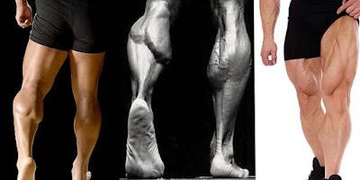 cara membentuk otot betis dan paha di rumah dengan cepat