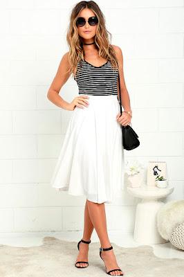 Faldas de moda casuales