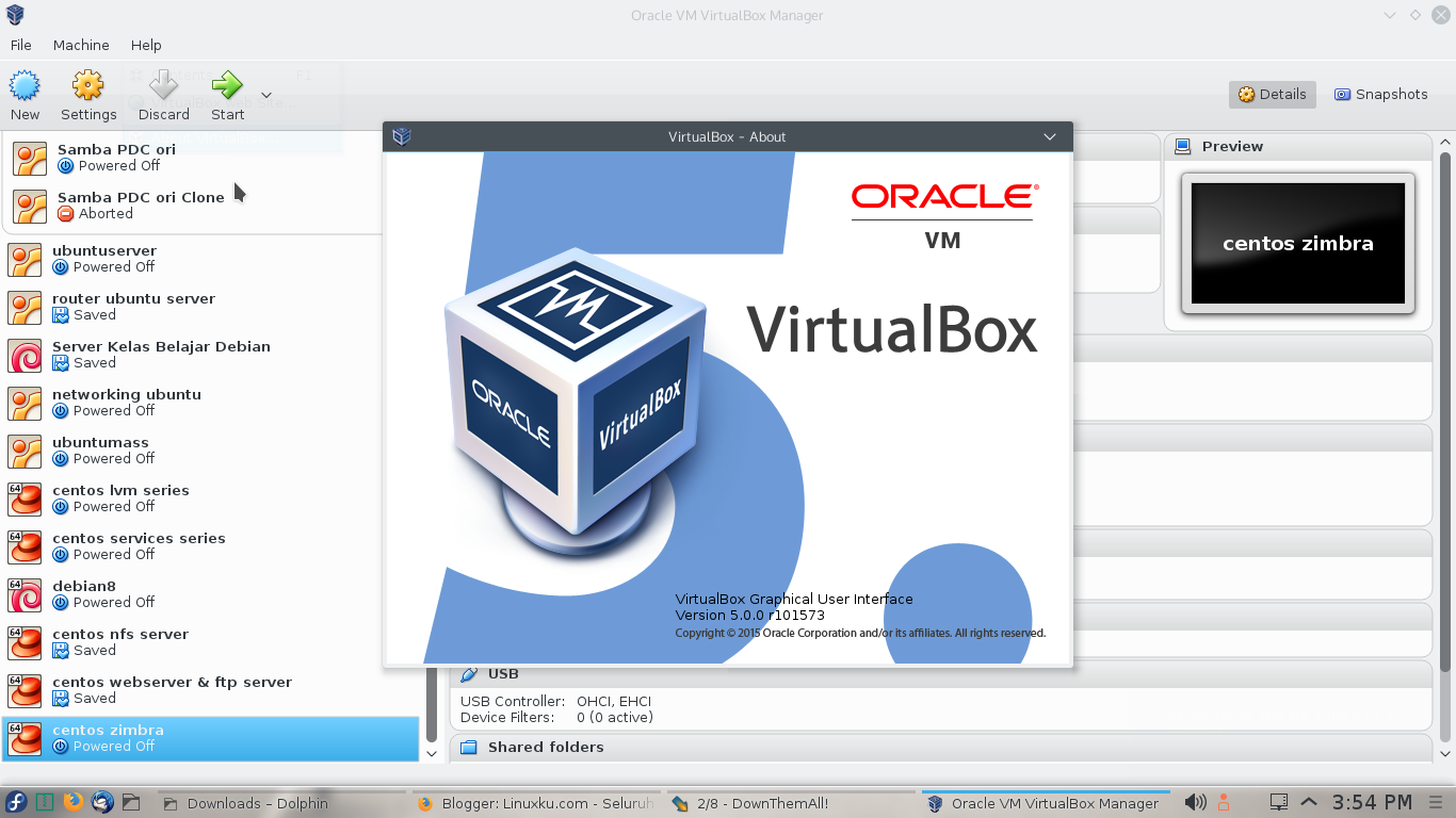 √ Install Virtualbox 5 0 di Fedora 22/Centos 7/RHEL 7