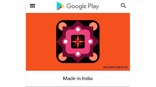 Made In India Application On Playstore