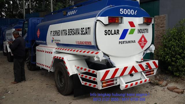mobil tangki bbm pertamina 2019, mitsubishi canter tangki bbm 2019