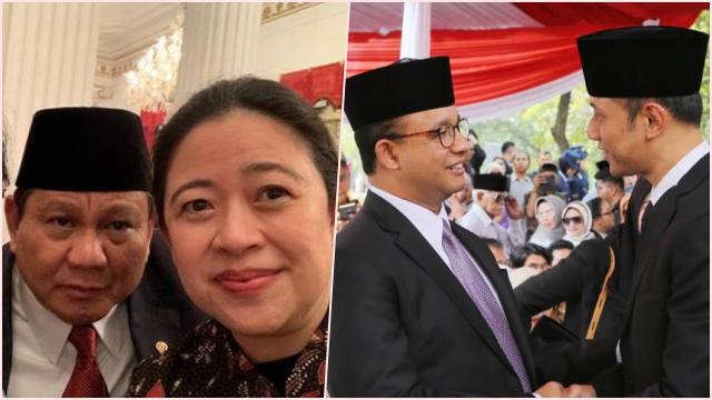 Jika Pilpres 2024 Diikuti 2 Paslon, Diprediksi Muncul Pasangan Prabowo-Puan dan Anies-AHY