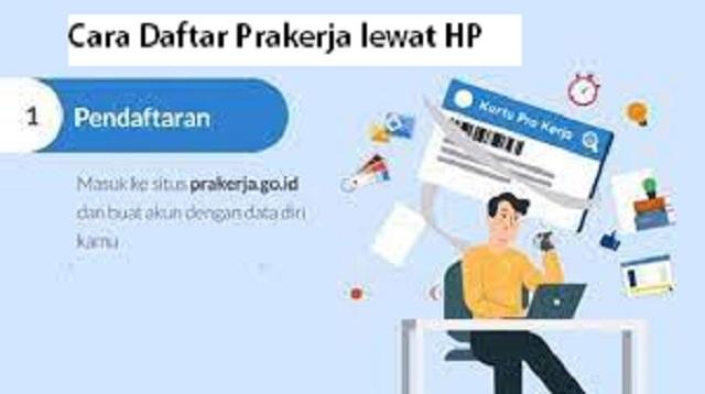 Cara Daftar Prakerja lewat HP
