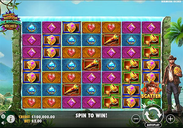 Main Gratis Slot Indonesia - John Hunter And The Quest For Bermuda Riches Pragmatic Play