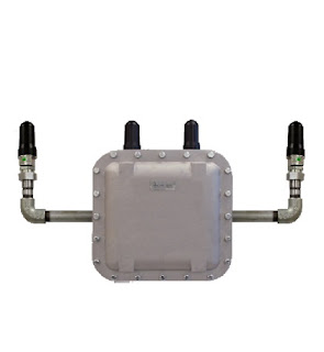 Industrial wireless access point explosion proof enclosure