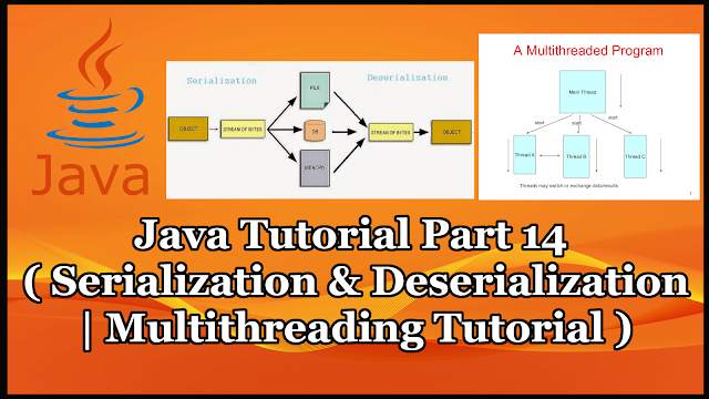 Java Serialization and Multithreading Tutorial Part 14