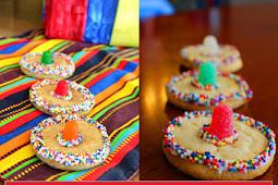 Easy Cinco De Mayo Sombrero Sugar Cookies