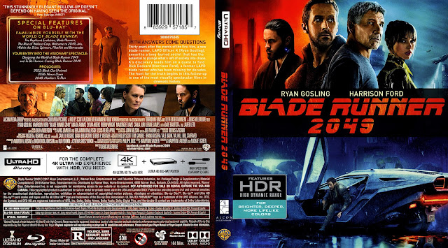 Blade Runner 2049 4K Bluray Cover