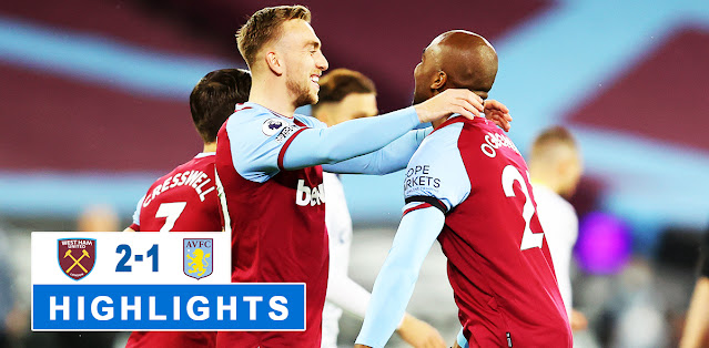 West Ham United vs Aston Villa – Highlights