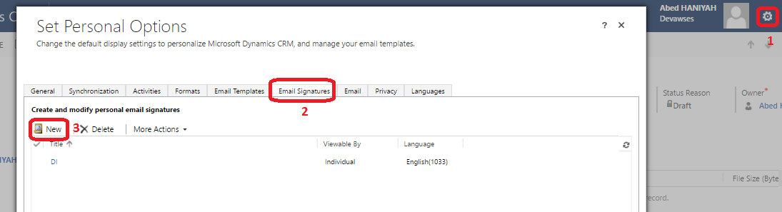 how to add signature in outlook 2016 online