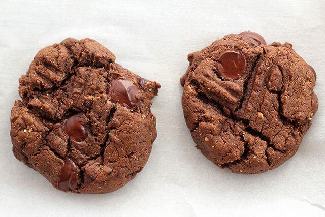 Double Chocolate Flourless Peanut Butter Cookies Recipe