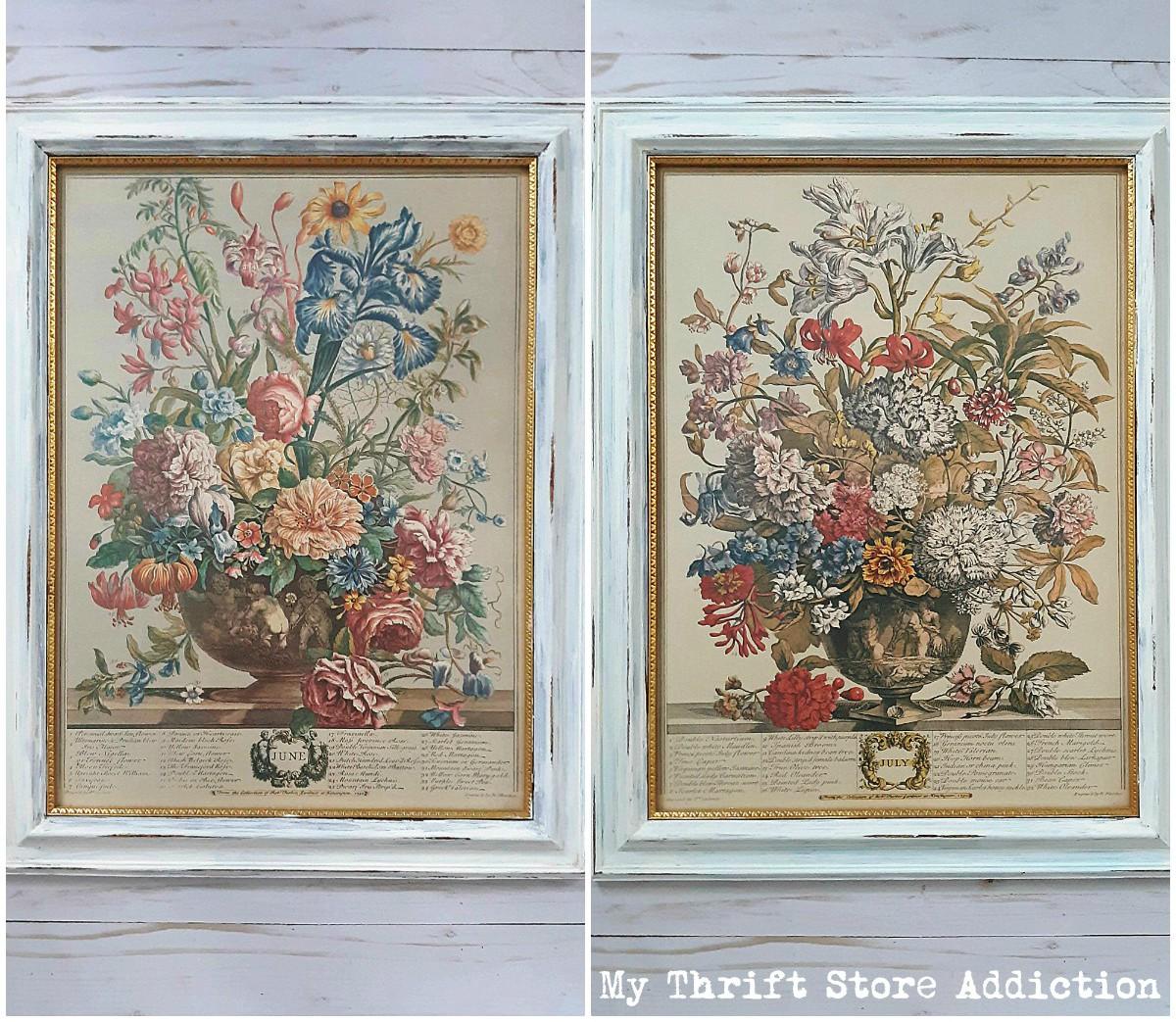 upcycled vintage botanicals