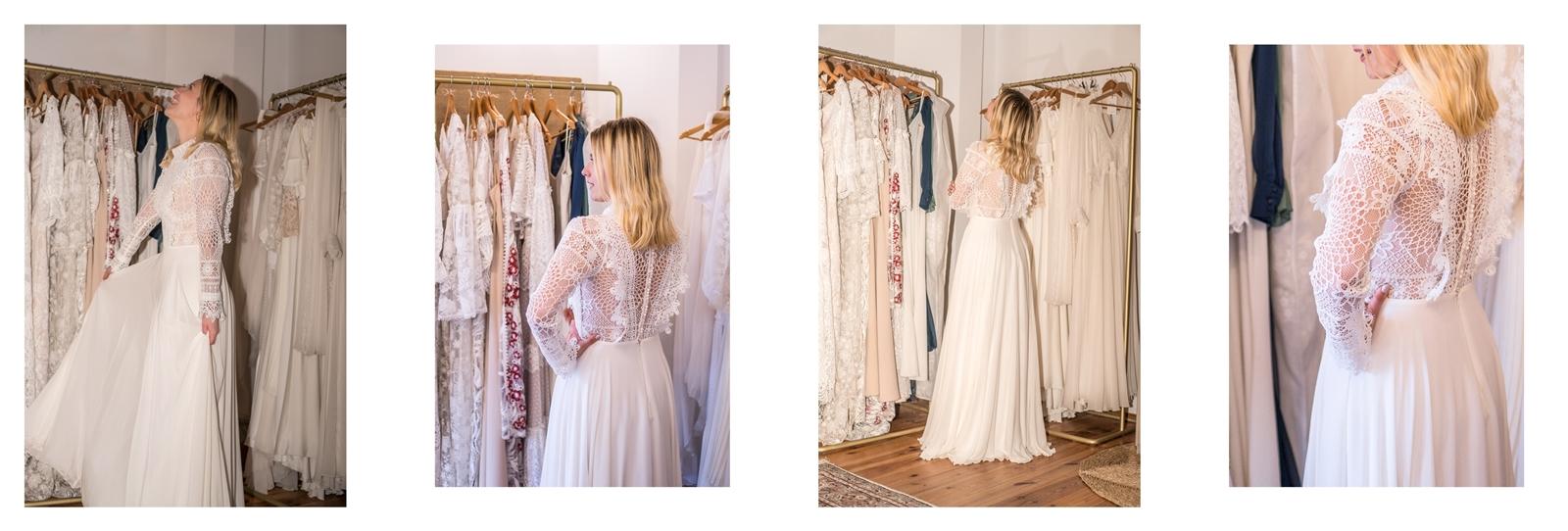 16 suknia ślubna dla puszystych dla rozwódki dla osoby nieskiej dla gruszki do figury boho rustykalna koronkowa sukienka ślubna długa