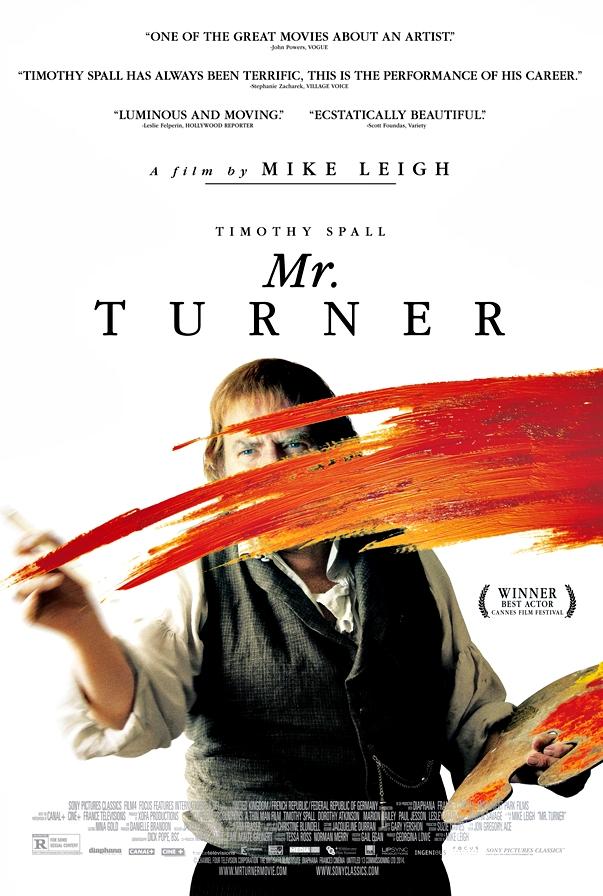 Póster Mr. Turner