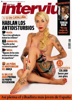 Revista Interviú España 9 Octubre 2017