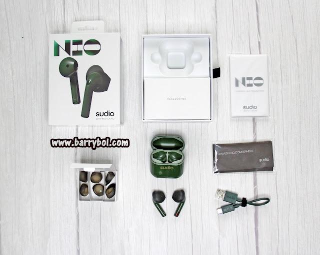 Sudio NIO Wireless Earphones Review Penang Malaysia Top Blogger Influencer KOL www.barryboi.com Best Earphones