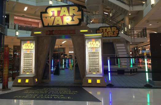 Parque Star Wars Experience anima Shopping ABC