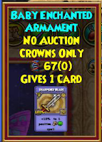 Wizard101 Aquila Sword and Shield Pet