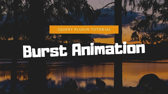 Image Burst Animation with Jquery | Jquery Plugins Tutorial
