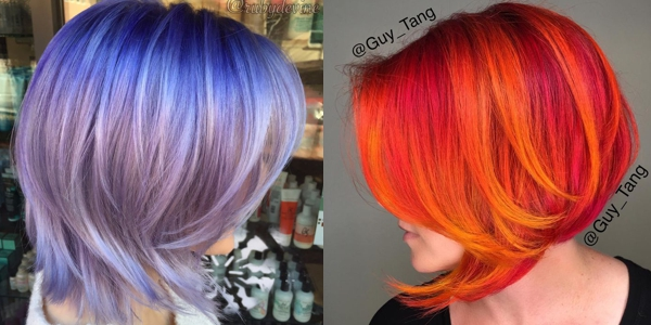 Colorful Bob Hairstyles! - The HairCut Web